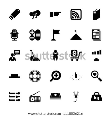web icon collection of 25 web