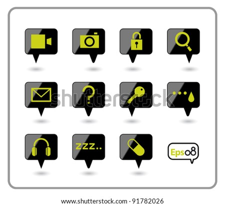 Web Icon design 11 item