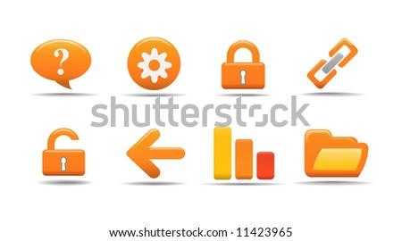 Web icon set 2 | Pumpkin series