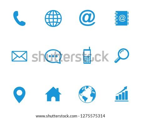Web icon set symbol vector