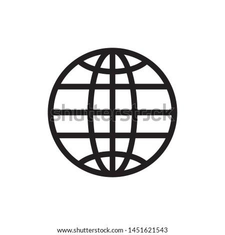 Web icon, Web icon page symbol for your web site design Web icon logo - vector