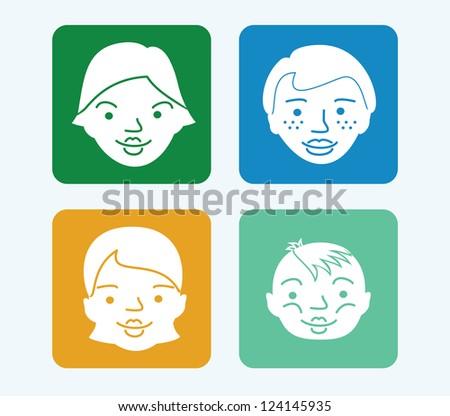 Web icons: Avatars