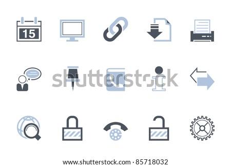 Web icons | LSB series - stock vector