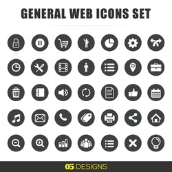 Web Icons Set- location icon, office, internet icon, share icon, zoom logos, svg, flat minimal small icon, social media for websites, general web icons,side menu bar, app icons, play, pause
