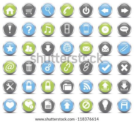 Web Icons set.Vector