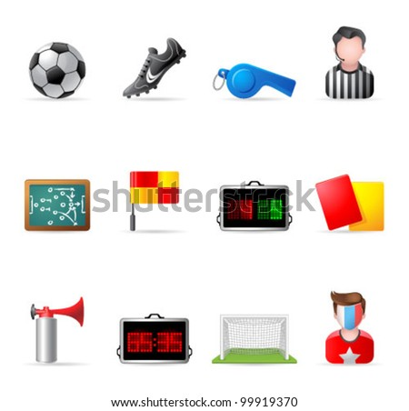 Web Icons - Soccer