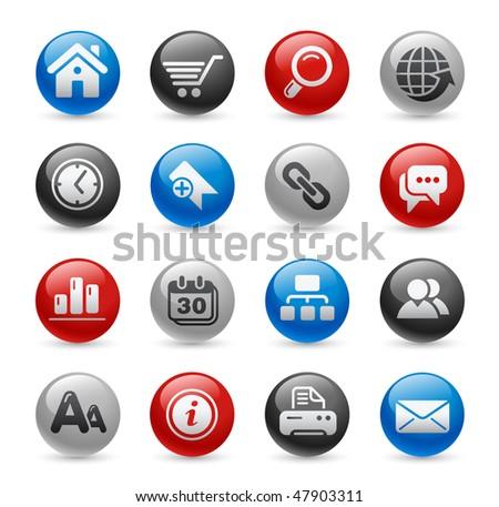 Web Site & Internet Icons // Gel Pro Series