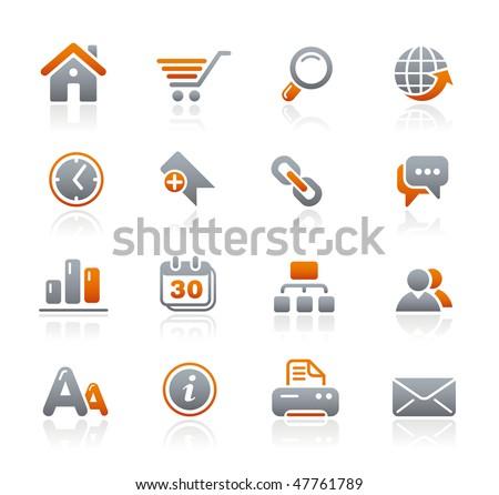 Web Site & Internet Icons // Graphite Series