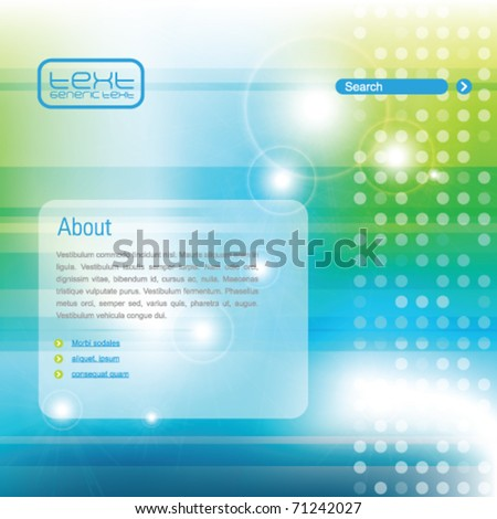 Web template design Blue Green abstract background texture - trendy business template with copy space Contemporary texture