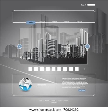 web template-vector