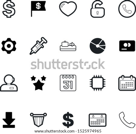 web vector icon set such as: growth, chart, download, real, talk, hotline, entertainment, case, processor, circuit, helpline, favorite, customer, graph, man, app, connection, vaccine, estate, time