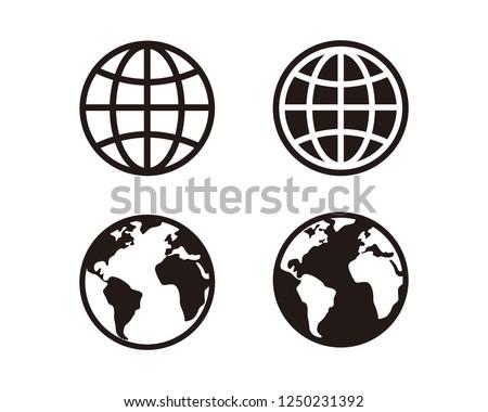 Web, website, homepage icon set