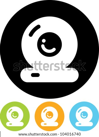 Webcam - Vector icon isolated