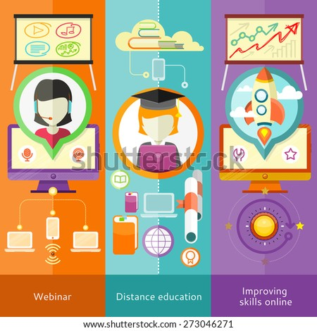 Knowledge education and distance learning
