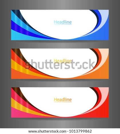 webset three colorful abstract