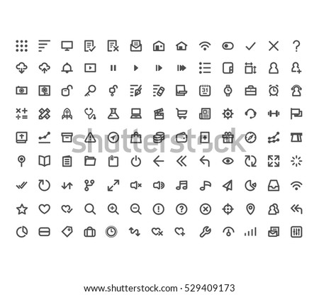 Website and Application icons #2