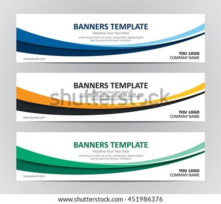 Website banner design background
