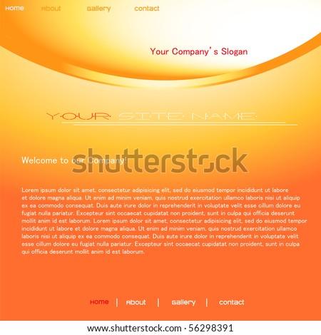 website design template Stock fotó ©