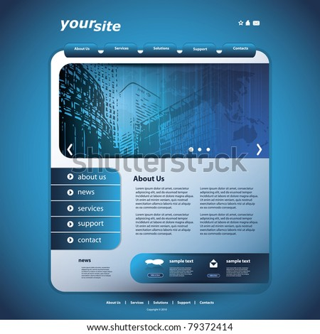 Website Design Template