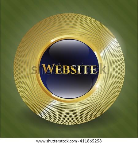 Website gold badge