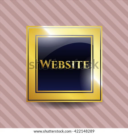Website gold badge