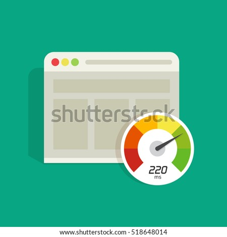 website speed loading time