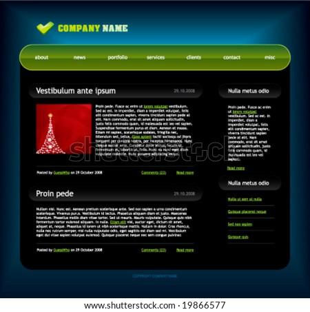 Free Adobe Web Templates