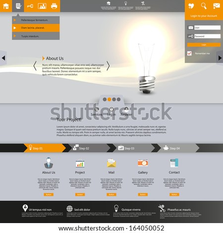 Lighting Websites Templates Images