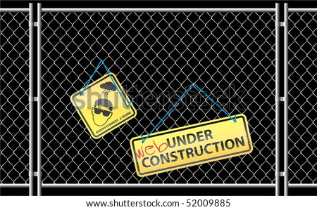 Website under construction wallpaper
