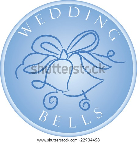 stock vector Wedding Bells Save to a lightbox Please Login