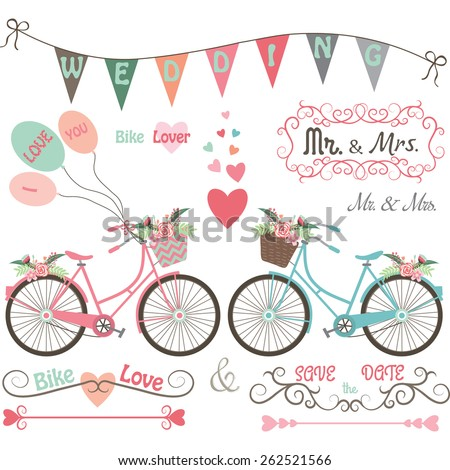 wedding bike elements