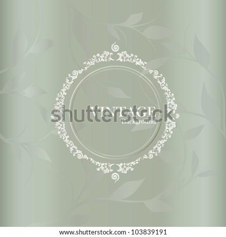 Wedding card. - stock vector
