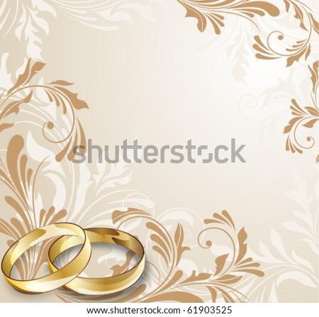 Wedding card eps10 format