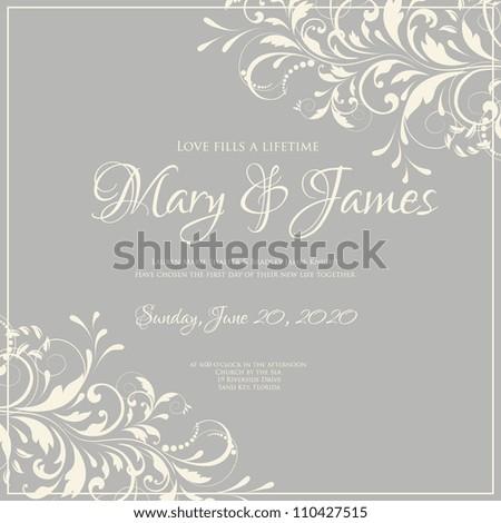 Elegant Wedding Invites Coupon as adorable invitation template