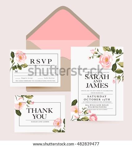 Wedding collection,wedding design,invitation card