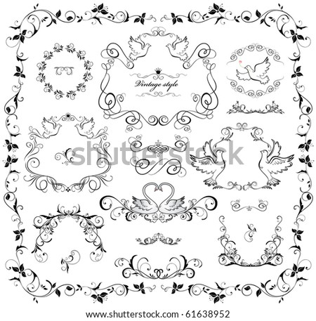 Wedding Design Stock Vector 61638952 : Shutterstock