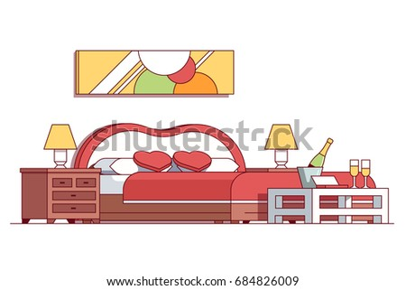 wedding double bed bedroom