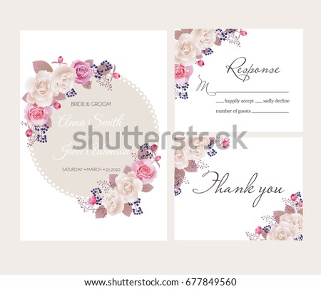 wedding floral template