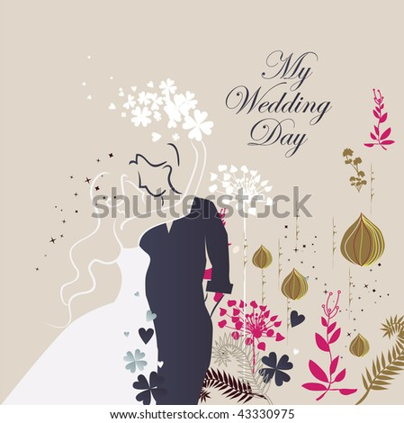 stock vector wedding invitation card wedding invitation cards