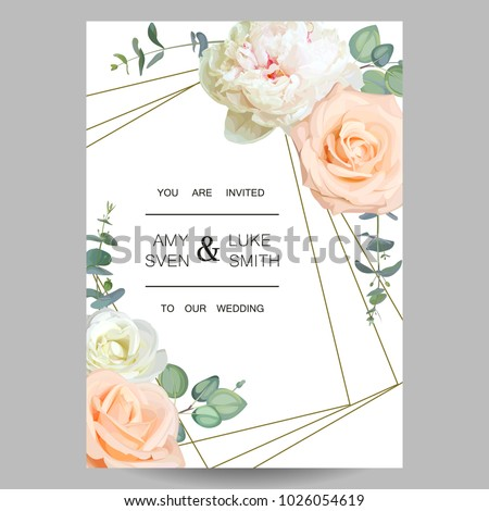 wedding invitation design of