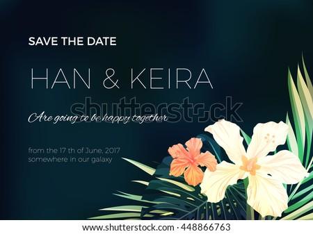wedding invitation or card