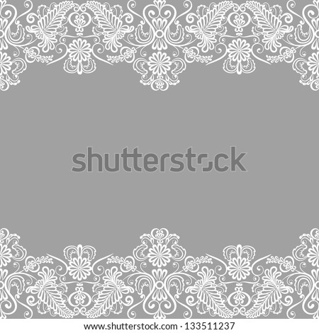 Lace Ribbon Wedding Invitations was amazing invitations sample