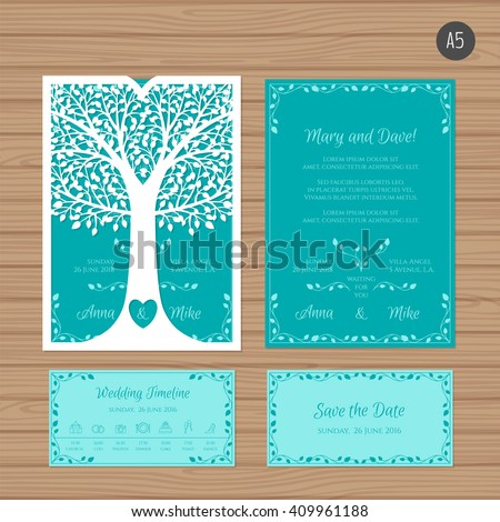 wedding invitation or greeting