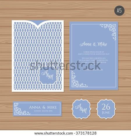 wedding invitation or greeting