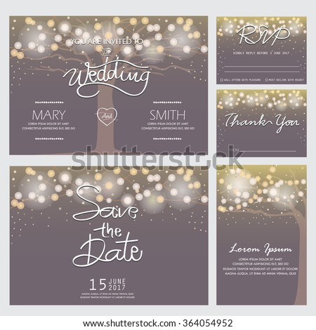 wedding invitation  rsvp  and