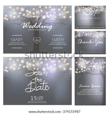 wedding invitation  rsvp  and