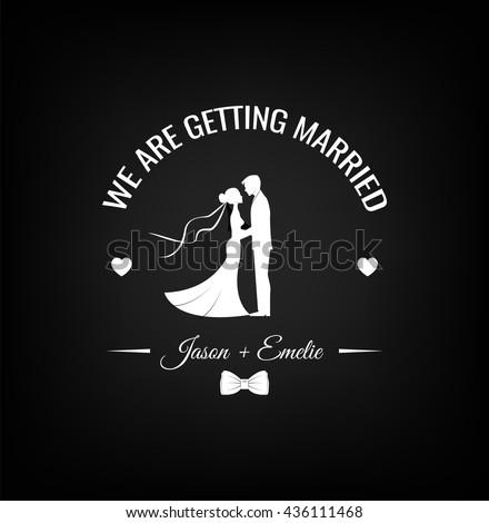 wedding invitation save the