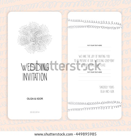 Wedding Invitation Thank You Card Save The Date Cards Baby Shower