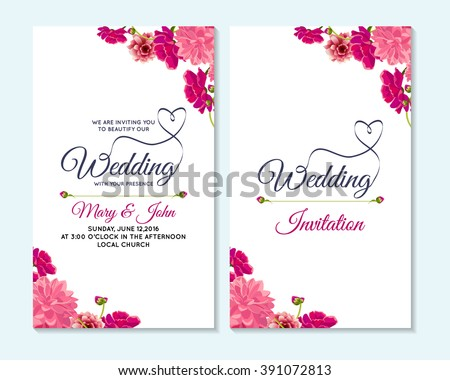 wedding invitation thank you card save the date cards wedding invitation baby shower menu. Black Bedroom Furniture Sets. Home Design Ideas