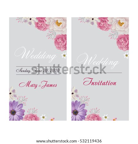 Wedding Invitation Thank You Card Save The Date Cards Wedding